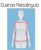 cuerpo rectangular