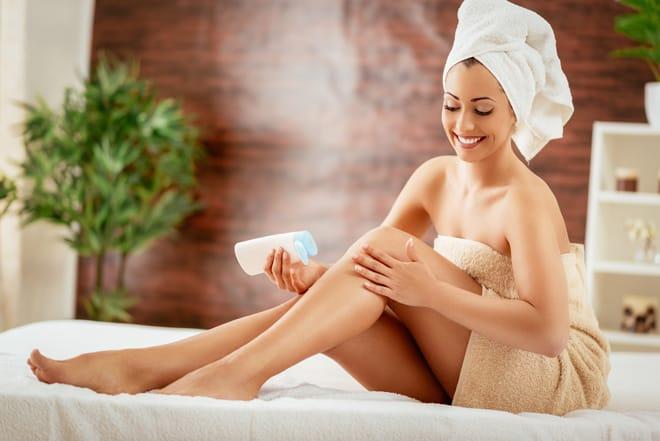 Crema corporal para pieles muy secas